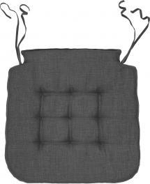 Svanefors Chair Pad Elsa - Grey 42x41x3 cm