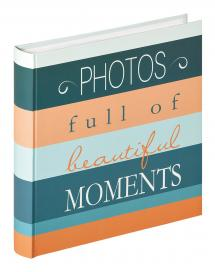 Walther Moments Photos - 30x31 cm (100 White pages / 50 sheets)