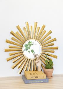 Artlink Mirror Selin Gold 81 cm Ø