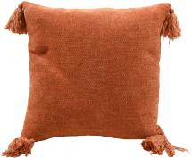 Miljögården Cushion Cover Tassle - Orange 45x45 cm