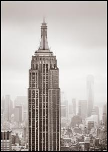 Bildverkstad Empire State Building Poster