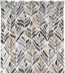 Redlunds Multiway Curtains Blake - White/Beige 2-pack