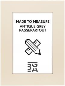 Egen tillverkning - Passepartouter Mount Antique grey - Custom Size
