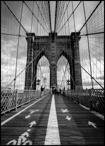 Lagervaror egen produktion Brooklyn Bridge Poster