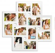 ZEP Milano Collage frame Acrylic glass White - 12 Pictures