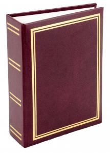 Exclusive Line Minimax Photo Album Maroon - 100 Pictures in 11x15 cm