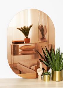 KAILA KAILA Mirror Oval Rose Gold 70x100 cm