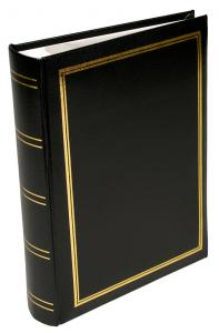 BGA Nordic Exclusive Line Super Photo Album HZ Black - 200 Pictures in 11x15 cm