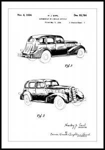 Bildverkstad Patent drawing - LaSalle II Poster