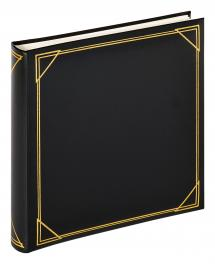 Walther Square Black - 30x30 cm (100 White pages / 50 sheets)
