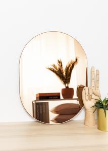 KAILA KAILA Mirror Oval Rose Gold 30x40 cm