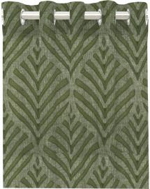 Redlunds Grommet Curtain Leroy - Green 2-pack