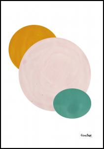 Bildverkstad Abstract Circle Poster
