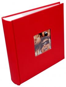 """Walther Fun Album Red - 200 Pictures in 10x15 cm (4x6"""")"""