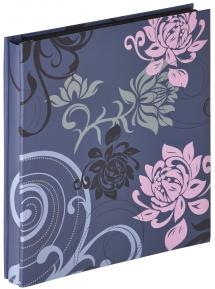 """Walther Grindy Photo album Blue - 400 Pictures in 10x15 cm (4x6"""")"""