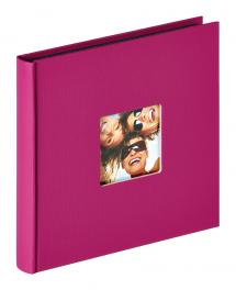 Walther Fun Album Purple - 18x18 cm (30 Black pages / 15 sheets)