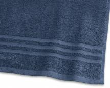 Borganäs of Sweden Bath Towel Basic Terrycloth - Marine Blue 90x150 cm