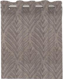 Redlunds Grommet Curtain Leroy - Grey 2-pack