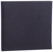 Focus Base Line Canvas Black 26x25 cm (80 White pages / 40 sheets)