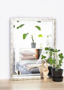 Estancia Mirror Kallsta Silver 60x80 cm
