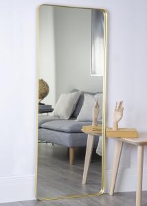 Hübsch Mirror Brass 60x152 cm