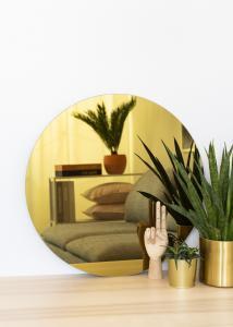 KAILA KAILA Rund Spegel Gold 60 cm Ø