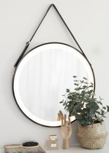 KAILA KAILA Mirror Black LED 60 cm Ø