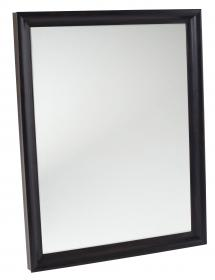Spegelverkstad Mirror Arjeplog Black-brown - Custom Size