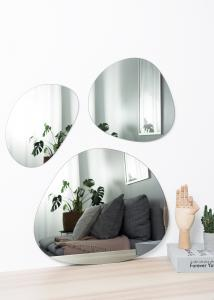Incado Mirror Set Warm Grey - 3 pieces