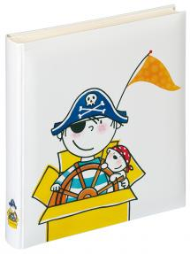 Walther Children's album Pirate Nursery - 28x30.5 cm (50 White pages / 25 sheets)