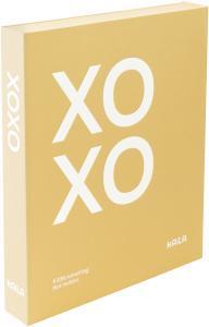 KAILA KAILA XOXO Yellow - Coffee Table Photo Album (60 Black Pages)