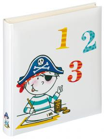 Walther Children's album Pirate School - 28x30.5 cm (50 White pages / 25 sheets)