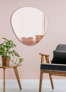 Incado Mirror Shape Rose Gold 68x70 cm