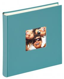 Walther Fun Album Turqouise - 30x30 cm (100 White pages / 50 sheets)