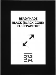 Galleri 1 Mount Black (Black Core) 13x18 cm (8x11,5)