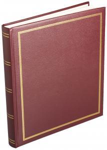 Estancia Diamond Photo Album Self-adhesive Red - 29x32 cm (40 pages)