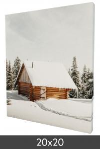 Egen tillverkning - Kundbild Canvas print 20x20 cm - 18 mm