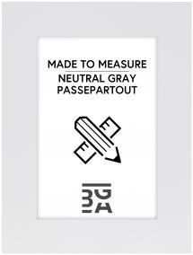 Egen tillverkning - Passepartouter Passepartout Neutral Grey - Måttbeställd