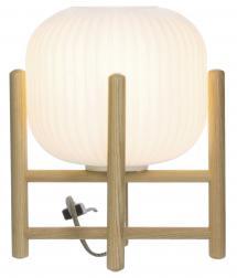 Aneta Belysning Table Lamp Vinda Small - Wood/White