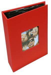 """Walther Fun Album Red - 100 Pictures in 10x15 cm (4x6"""")"""