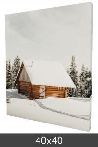 Egen tillverkning - Kundbild Canvas print 40x40 cm - 18 mm