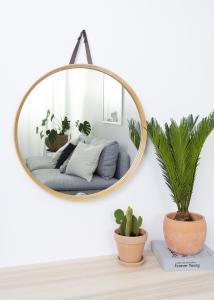 Hübsch Mirror Bambu 60 cm Ø