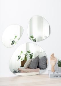 Incado Mirror Set Clear - 3 pieces