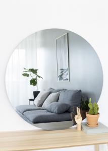 KAILA KAILA Round Mirror Smoked Grey 110 cm Ø