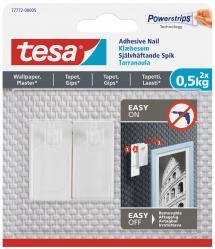 Tesa Tesa - Self-adhesive nail for all types of wall (max 2x0,5kg)