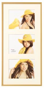 Walther New Lifestyle Collage frame Gold - 3 Pictures (15x20 cm)