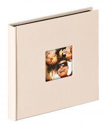 Walther Fun Album Sand - 18x18 cm (30 Black pages / 15 sheets)