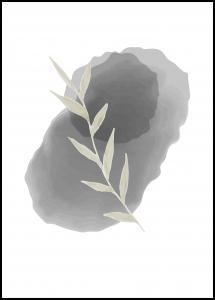 Bildverkstad Painted Leaf I Poster