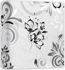 ZEP Umbria White - 32x32 cm (50 White pages / 25 sheets)