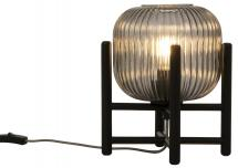 Aneta Belysning Table Lamp Vinda Small - Black/Smoke